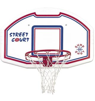 Basketkorg New York med platta Väggmodell | komplett set