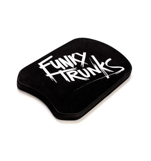 Funky Trunks Kickboard Still Black - Simplatta