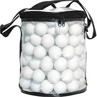Bordtennisbollar i plastbag 144-pack vit